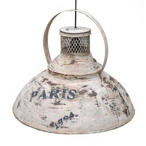 Weathered pendant lamp