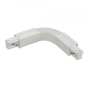 3-Circuit Tracks - Electrical flexible coupler - White
