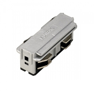 3-Circuit Tracks - Electrical straight coupler - White