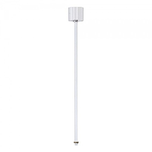 3-Circuit Tracks - Pendant rod - White