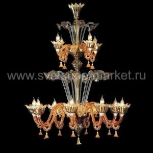 Потолочный подвесной светильник 7434_8+4