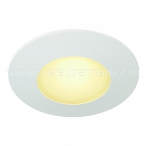 AITES LED ROUND FOR JUNCTION BOXES WHITE