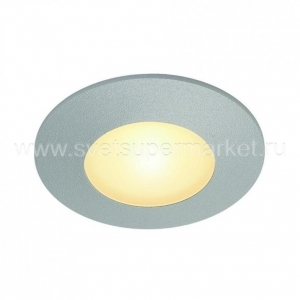 AITES LED ROUND FOR JUNCTION BOXES SILVER GRAY