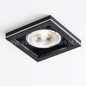 COCOZ SQUARE 1.0 LED111 3000K DIM BLACK | CHROME
