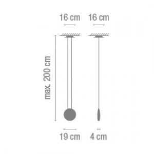 Cosmos suspension LED изображение 2