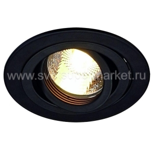 NEW TRIA GU10 ROUND DOWNLIGHT BLACK изображение 2