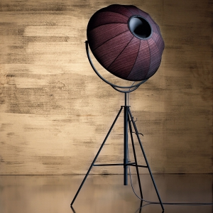 Studio 76 Tripod Floor Lamp Gold