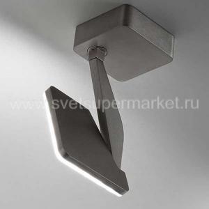 Jackie Wall/ceiling spot Titanium