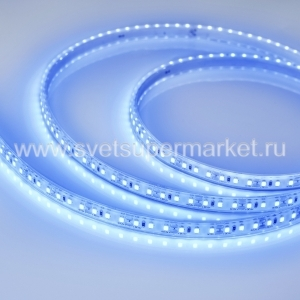 Лента RTW-5000PU-2835-120 24V Blue (10.5mm, 14.4W, IP68)