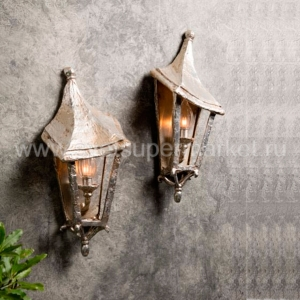 Melting Florence wall lantern small
