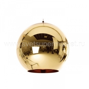 Mirror Ball Bronze 45cm