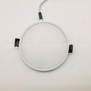 Round  Resessted Led