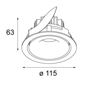 Smart Cake 115 adjustable LED изображение 2