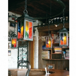 Suspension Lamp With Lead