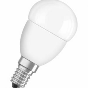 Светодиодная лампа LED STAR CLASSIC P 40 6 W/827 E14 FR