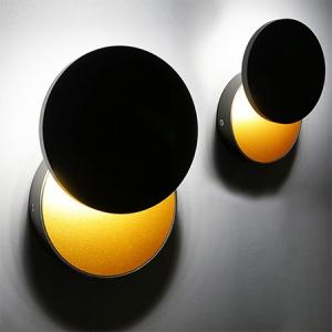 UFO black/gold LED
