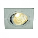 NEW TRIA LED DL SQUARE SET 6,6 W SILVER GRAY